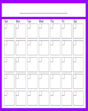 2016 Monthly Calendars To Print And Fill Out | Calendar Template 2016