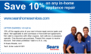 Sears Coupons 10 Off