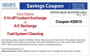 Sears Coupons 10 Off Auto Center