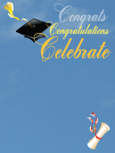 Congrats Graduation Invitations
