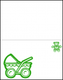 Green Baby Cards Maker